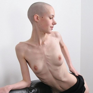 Anorexic fetish porn